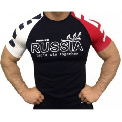 Klokov Team Winner Russia Tri-Color T-Shirt