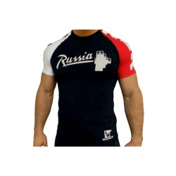 Klokov Team Winner Russia Stange Tri-Color T-Shirt