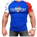 Klokov Team Winner Double-Headed Eagle Tri-Color T-Shirt